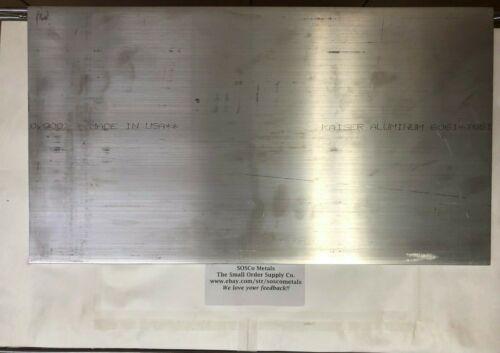 3/8 X 10 Aluminum Flat Bar Plate 18 Long 6061 T6511 (.375)