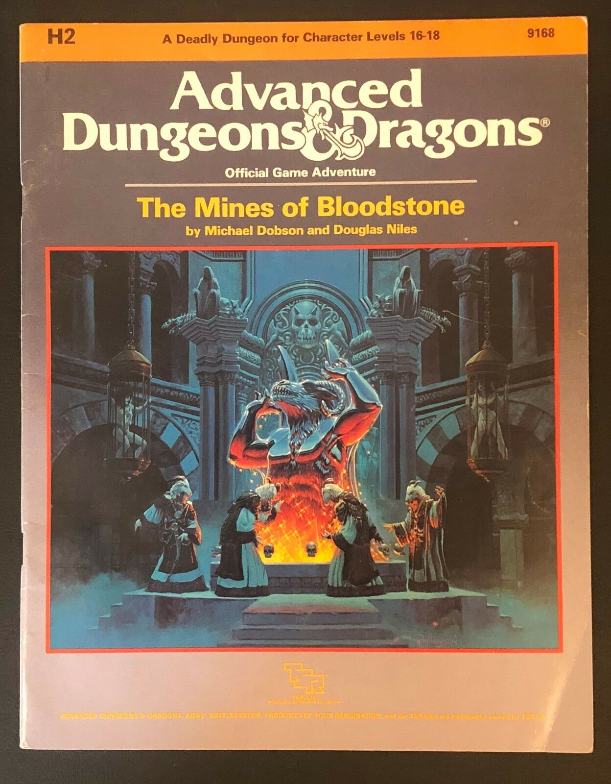 H2 The Mines of Bloodstone TSR Advanced Dungeons & Dragons