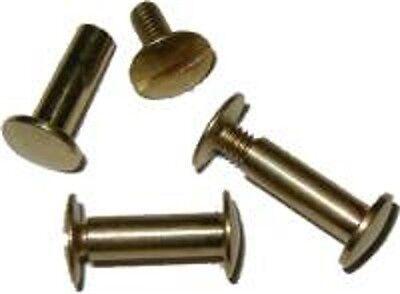 """Brass LOT OF 6 EACH  Screw Post 1//2/""""   B3744-6"""
