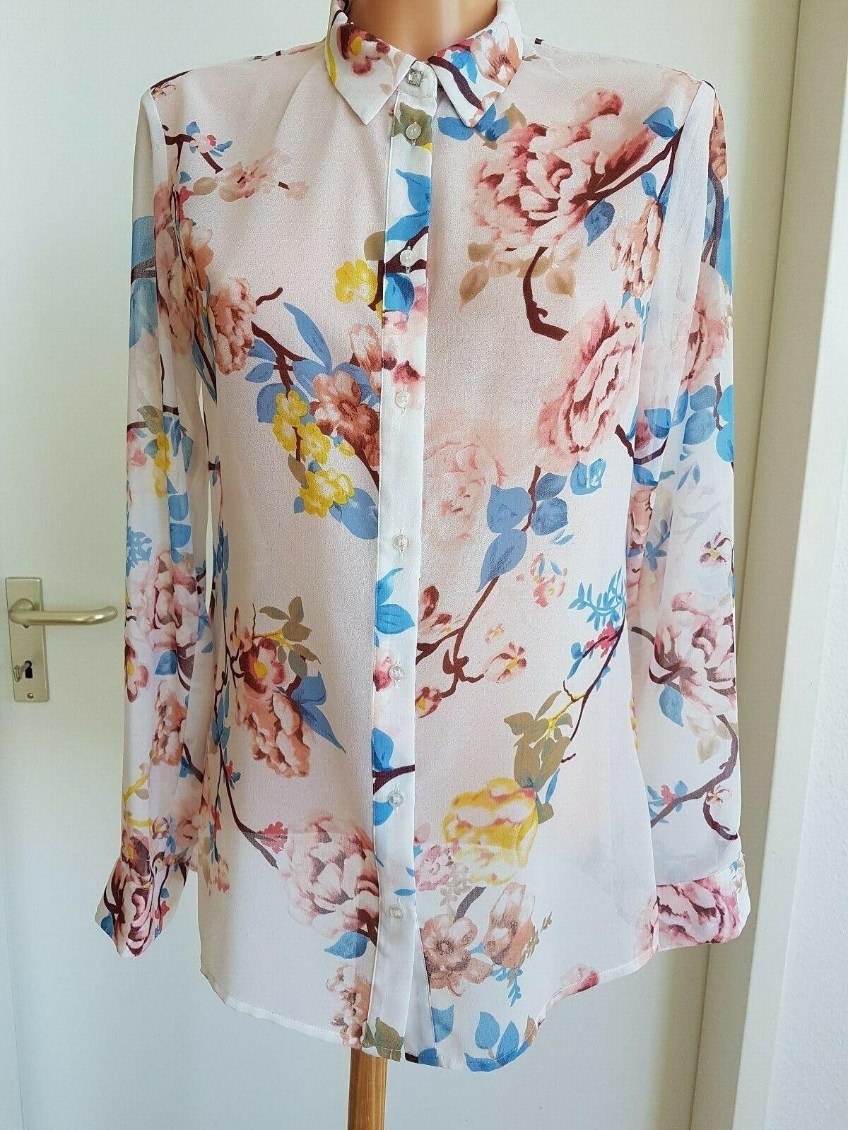 GUESS by Los Angeles Damen Shirt Blause Transparenz Neu Top