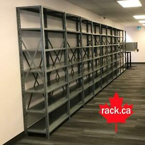 Industrial Shelving - Pallet Racking - Guardrail - Mezzanine - Cantilever - Wire Partition - Installations - Design Mississauga / Peel Region Toronto (GTA) Preview
