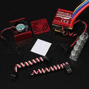 Turnigy-TrackStar-One-Cell-120A-1-12th-amp-1-10th-Sensored-Brushless-Car-ESC