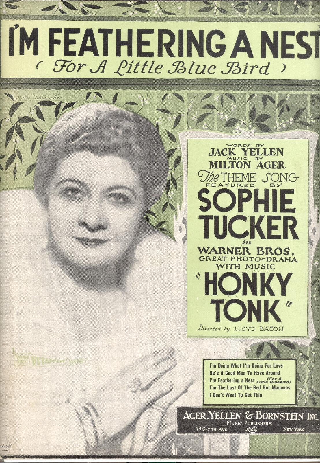 Nasal Tonk partituras    Estoy de variación de paso un nido  Sophie Tucker  orden ahora con gran descuento y entrega gratuita