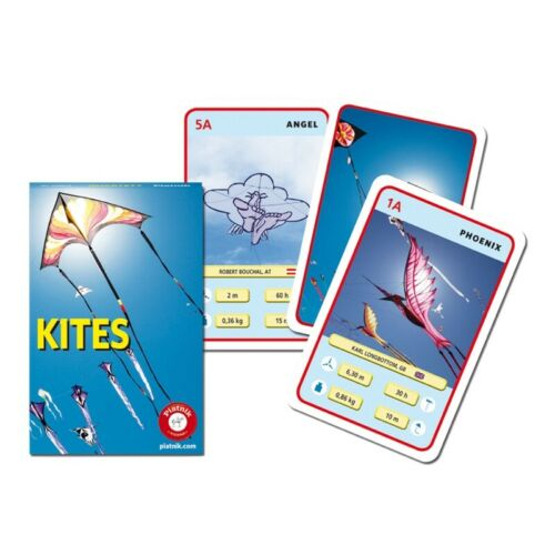 Piatnik 420818 Kites Quartett Drachen