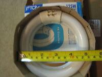 Tcp 32033 T6 Circline Fluorescent Double Bulb 5.5 Dia. 4 Pin 33w = 125w