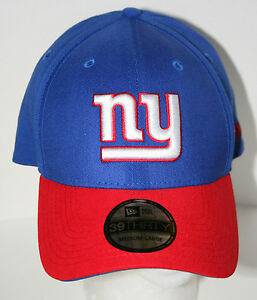 Details about New York NY Giants NFL Football Team Cap Hat New Era 3930  Med LG Unused 7599def4867