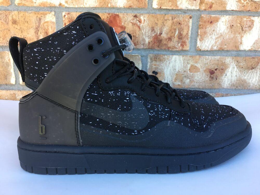 Men's Nike Dunk Lux SP X Pigalle Noir BLANC Grey NikeLab  Chaussures de sport pour hommes et femmes