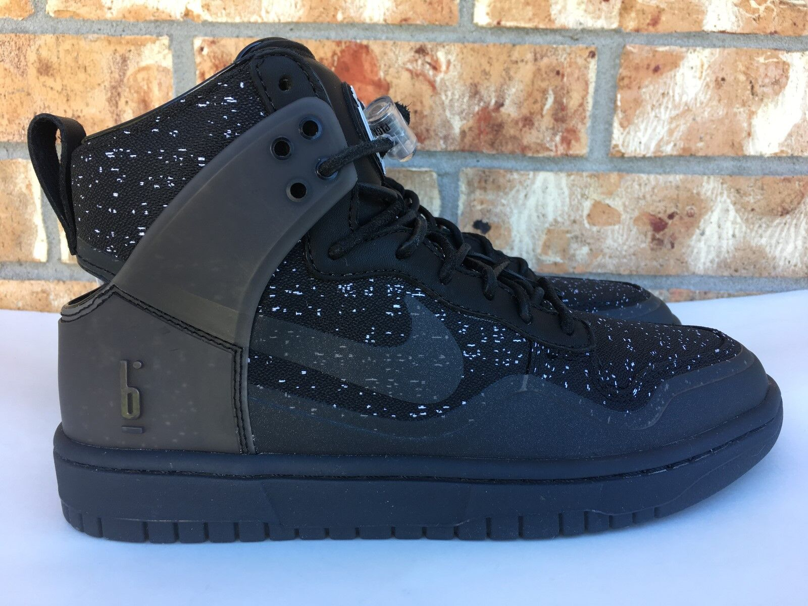 Men's Nike Dunk Lux SP X Pigalle Black White Grey NikeLab Size 6 806948-001