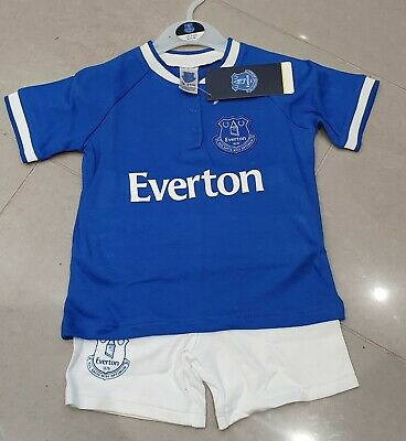 6 YEARS R.R.P £11.99 2 NEW GIRLS PINK EVERTON F.C SHORT SLEEVE T-SHIRT AGES 4
