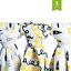 Mantas Envolventes de Muselina Bebé Oro bucles Árbol nube 48x48 3 Pack Negro
