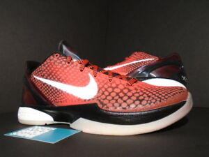994919b031ee 2011 NIKE ZOOM KOBE VI 6 ALL-STAR CHALLENGE RED WHITE BLACK 448693 ...