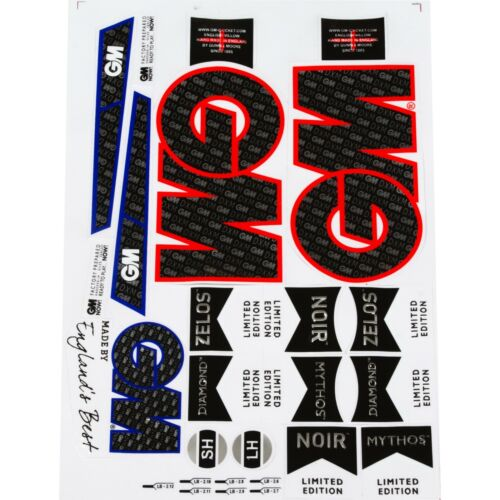 CRICKET BAT STICKER EMBOSSED FREE DELIVERY AU STOCK