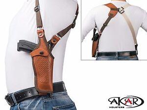 Vertical-Shoulder-Leather-Holster-for-1911-3-034-5-034-Choose-your-Color-amp-Hand