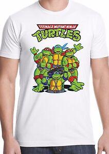 0b91123ce teenage mutant ninja turtles t shirt retro 80s cartoon 90s tmnt kids ...