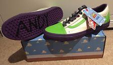 BNIB Toy Story Vans Buzz Lightyear Old Skool UK 9 EU 43 US 10 Men's *NEW* Ltd Ed