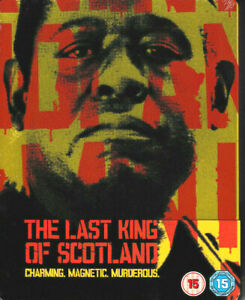 The-Last-King-of-Scotland-Limited-Edition-STEELBOOK-Blu-Ray-Brand-New