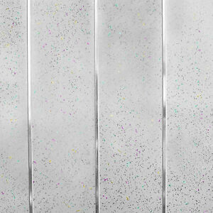 Details about Platinum White Sparkle Chrome Wall Cladding Bathroom Kitchen  Ceiling Panels PVC