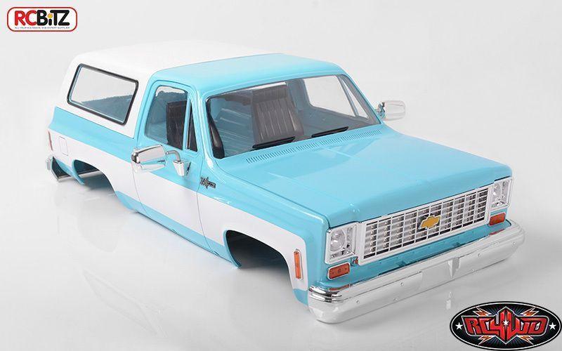 incentivi promozionali RC4WD Chevrolet Blazer Scala Rigida Corpo Completo Set Set Set Luce Blu Z-B0148 K5  negozi al dettaglio
