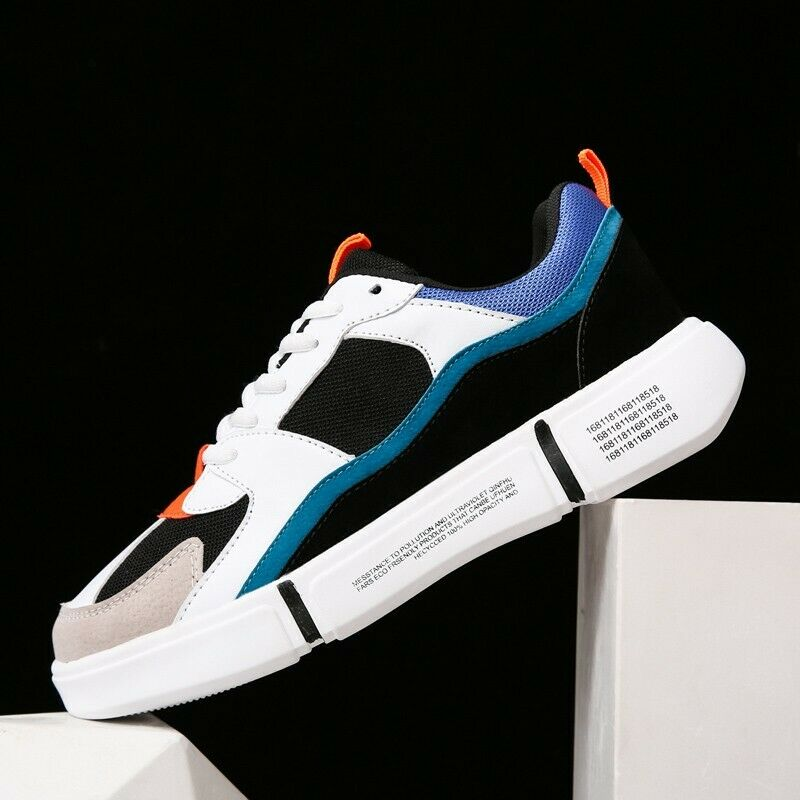 New Mens Fashion Sneaker Athletic Sport Leisure Match color Baseball shoes Board