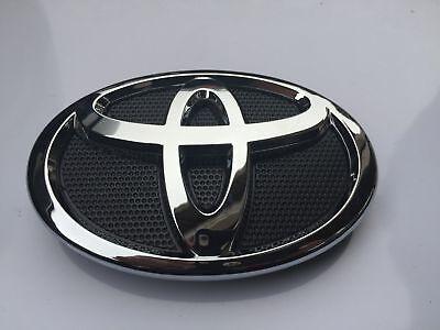 New 2007 2009 Toyota Camry Hood Grill Black Amp Chrome
