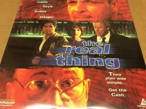 The-Real-Thing-Laserdisc-LD-James-Russo-Emily-Lloyd-Gary-Busey-SEALED-BRAND-NEW