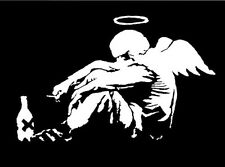 QUALITY BANKSY ART PHOTO PRINT (FALLEN ANGEL)