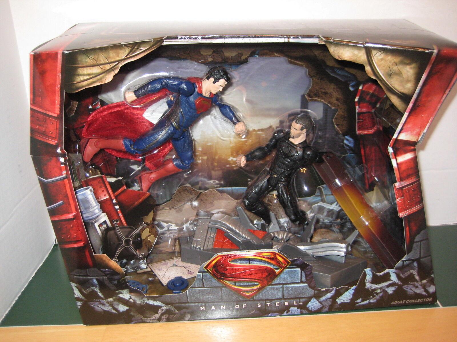 SuperMan vs General Zod Exclusive Set  Movie Masters SEALED