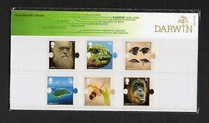 GB 2009 Presentation Pack Charles Darwin stamps