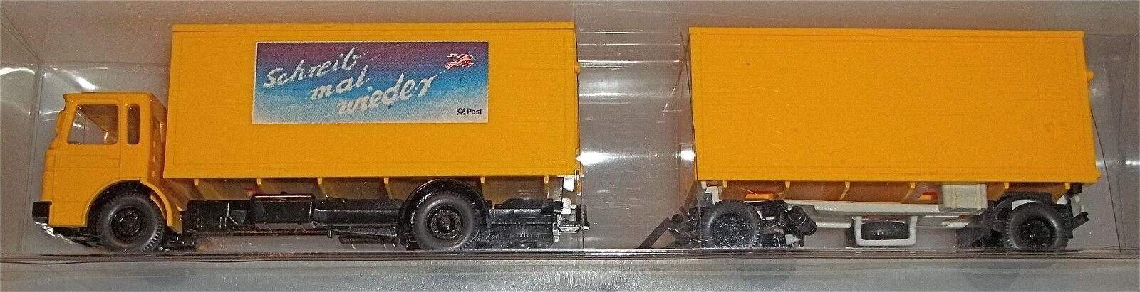 Deutsche post Roadtrain Photo Pre-series Model Wiking 1 87 Å