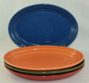 Fiesta-9-5-8-034-SMALL-OVAL-PLATTER-Choice-of-Discontinued-amp-Current-Colors