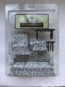 Mayberry Street Miniature Picture Frame Floral Still Life Dollhouse Miniature