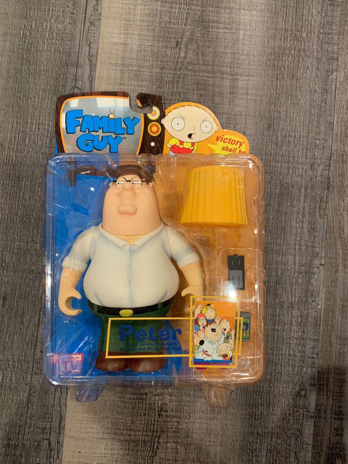 Mezco Family Guy Peter Griffin Series 1 1 1 Action Figure 2004 MOC RARE e26e1c