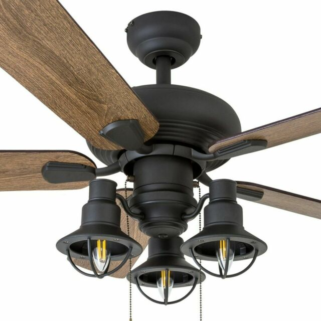 Farmhouse Ceiling Fan Light Fixture Kit