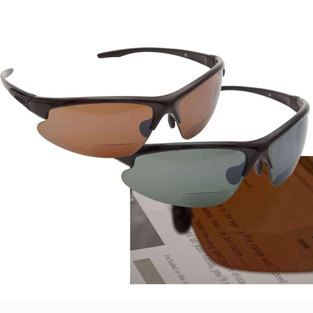 Snowbee Prestige Magnifier Sunglasses Braun Braun Sunglasses Frame, Amber Lens - 18116-2 68d2fe
