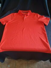 C9 Champion Men/'s Duo Dry Short Sleeve Striped Petro Teal Polo Shirt S