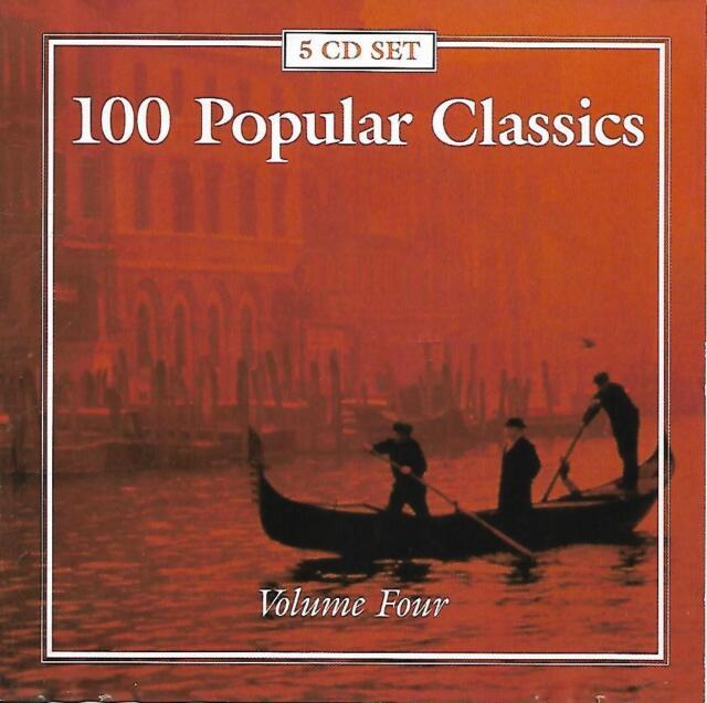 100 Popular Classics (Vol.4) - Various Artists (2000 CD Album)