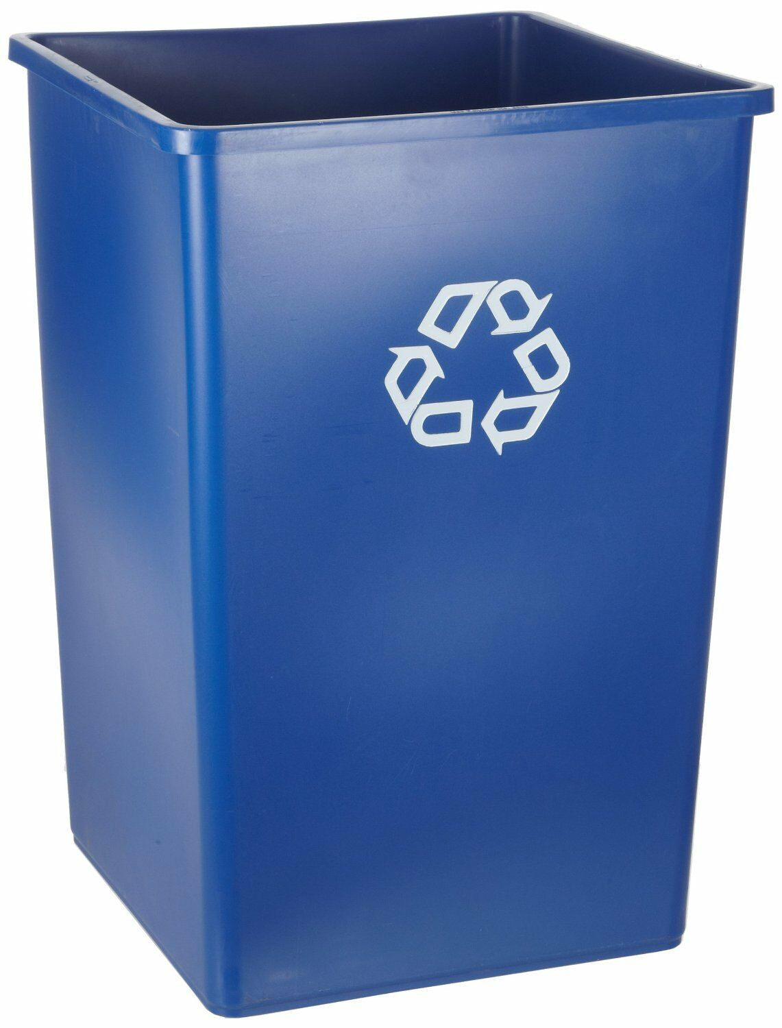 Rubbermaid Commercial Recycle Bin 50 Gallon Blue Fg395973blue | eBay