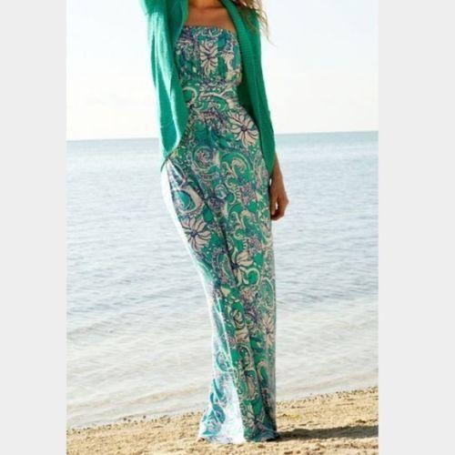 NWT NWT NWT LILLY PULITZER HOLBROOK DRESS MAXI  SEAFOAM GREEN MONTAUK XXS 1a85c8
