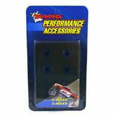Traxxas Part 1747R Nuts blue-anodized Aluminum Slash Platinum New in Package