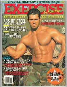 Details about EXERCISE FOR MEN ONLY bodybuilding muscle magazine/ MILITARY  FITNESS ISSUE 8-97