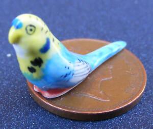 Tumdee escala 1:12 Casa De Muñecas Cerámica Pájaro Pato Decoración De Jardín Animal 2