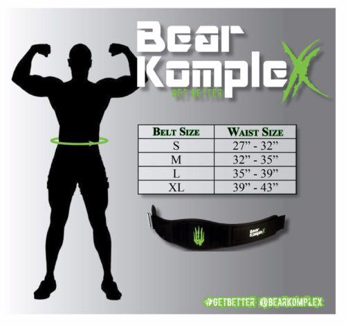 Weightlifting Bear KompleX Weight Lifting Belt for Cross-fit Powerlifting