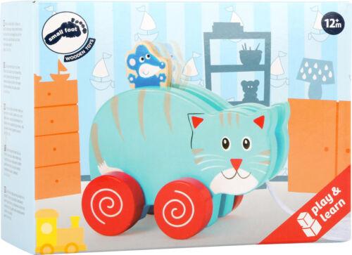 Ziehtier Katze und Maus mit Namen Nachziehtier Ziehtier personalisiert Spielzeug