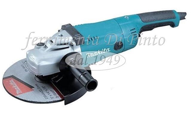 AMOLADORA ANGULAR W 2200 MM 230 MAKITA PROFESIONAL FLEXIBLE PULIDORA