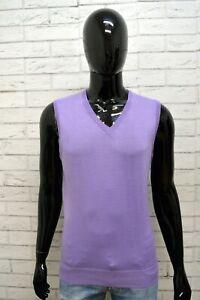 Maglione-Maglia-Pullover-Cardigan-Uomo-WILLIAM-Taglia-Size-L-Sweater-Man-Slim