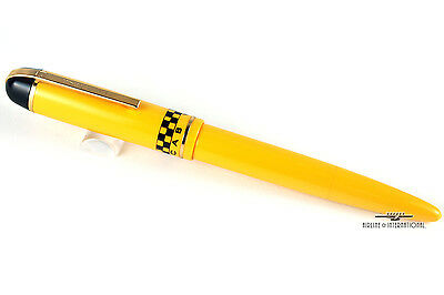 Vintage Eversharp Skyline Yellow Taxi Cab Rollerball Pen - Without Box