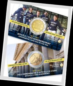 2-EURO-2017-Gent-Universite-Gand-coincard-Belgie-2017-Belgique