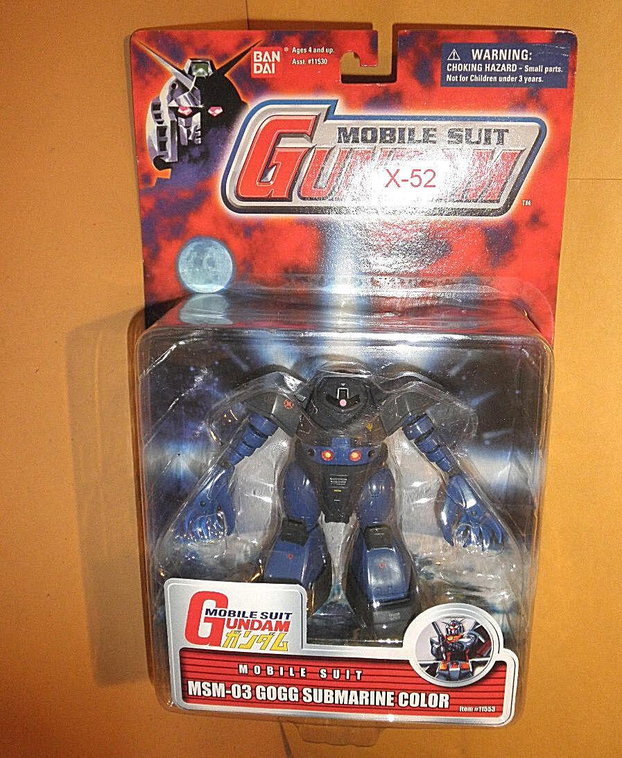 GUNDAM MSIA mia FIGURE series blueE SUBMARINE COLOR GOGG toy RARE mobile suit in