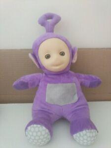 Tinky-Winky-Teletubbies-Purpura-Suave-Juguete-Peluche-30cm-en-muy-buena-condicion
