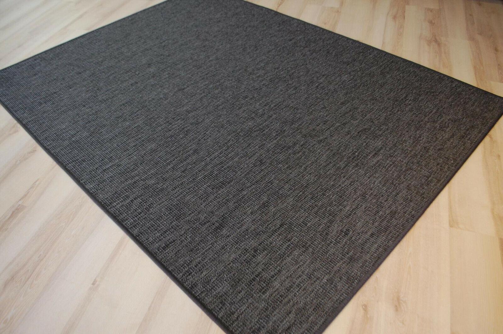 caldo Outdoor indoor indoor indoor TAPPETO Cornus ANTRACITE resistente alle intemperie terrazzo cucina grigio  qualità ufficiale